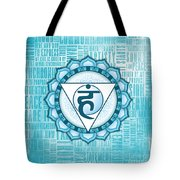 Throat Chakra - Awareness Tote Bag