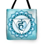Throat Chakra Tote Bag by David Weingaertner