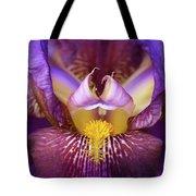 Throat Of The Iris Tote Bag