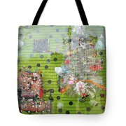 Throne For The Queen Of Kitsch At Big Fun Cleveland Tote Bag