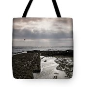 Throne Of Seagulls Tote Bag