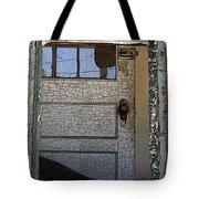 Through A Broken Window Tote Bag