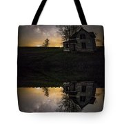 Through A Mirror Darkly  Tote Bag