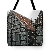 Through A Water Wall Tote Bag