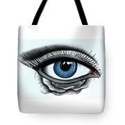 Through My Eye Tote Bag