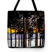 Through My Woods Tote Bag