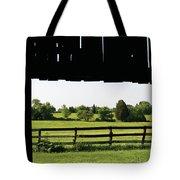 Through The Barn Tote Bag