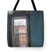 Through The Bars She Saw Her Freedom Tote Bag
