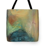 Through The Blue Tote Bag