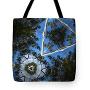 Through The Canopy 1 Tote Bag