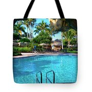 Through The Cave Tote Bag