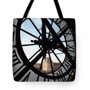 Through The Clock Tote Bag