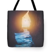 Through The Cracks Tote Bag