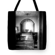 Through The Doorway Tote Bag