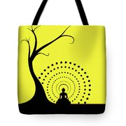 Through The Eye Of Buddhism Tote Bag