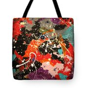 Through The Eyes Of The Universe Tote Bag