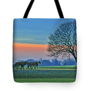 Through The Fields Tote Bag by Scott Mahon