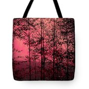 Through The Forest, Rose Tote Bag