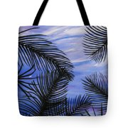Through The Fronds Tote Bag