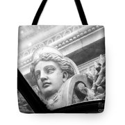 Through The Glass Of Time Tote Bag