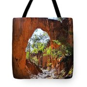 Through The Golden Arch Tote Bag