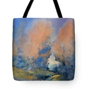 Through The Hole In The Trees Tote Bag