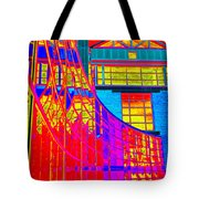 Through The Kaleidoscope Wormhole Tote Bag