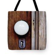Through The Keyhole Tote Bag