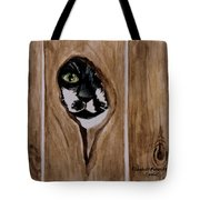 Through The Knothole Tote Bag