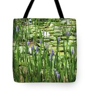 Through The Lily Pond Tote Bag