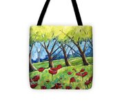Through The Meadows Tote Bag