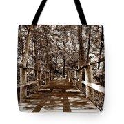 Through The Narrow Path  Tote Bag