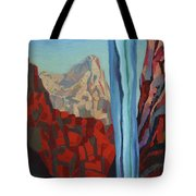 Through The Narrows, Zion Tote Bag by Erin Fickert-Rowland