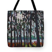 Through The Opinicon Forest Tote Bag