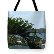 Through The Palms Tote Bag
