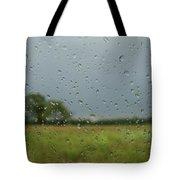 Through The Raindrops Tote Bag