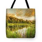 Through The Reeds Tote Bag by Nick Bywater