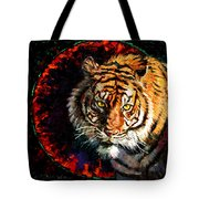 Through The Ring Of Fire Tote Bag