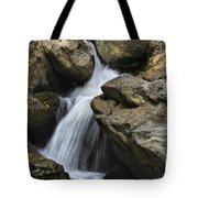 Through The Rocks Tote Bag