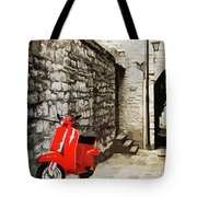 Through The Streets Of Italy - 01 Tote Bag