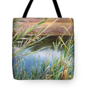 Through The Thickets Tote Bag