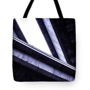 Through The Underpass Tote Bag