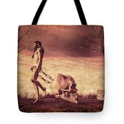 Through The Valley  Tote Bag