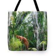 Through The Waterfall Tote Bag
