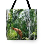 Through The Waterfall Tote Bag