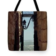 The Messiah's Alley Tote Bag