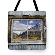 Through The Window Of The Past Tote Bag