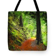 Through The Woods Tote Bag
