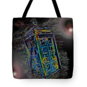 Tardis - Through Time And Space Tote Bag