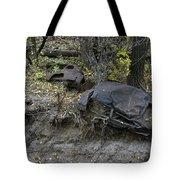 Throw Away - Cars Tote Bag